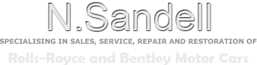 N Sandell Restoration and Car repairs for Rolls Royce and Bentley Cars